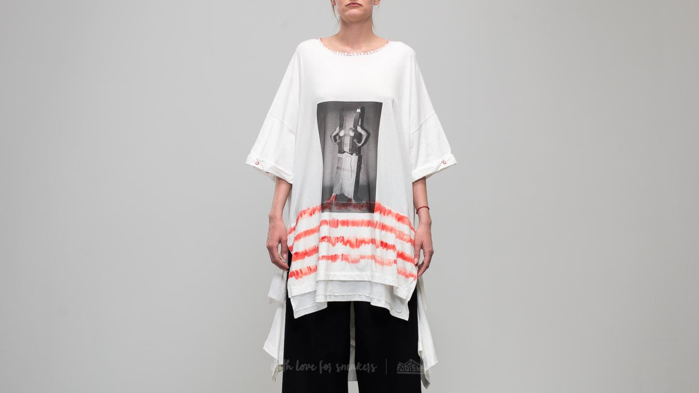 Footshop x Petra Ptáčková ZERO WASTE 2 Face Stitched T-Shirt Dress