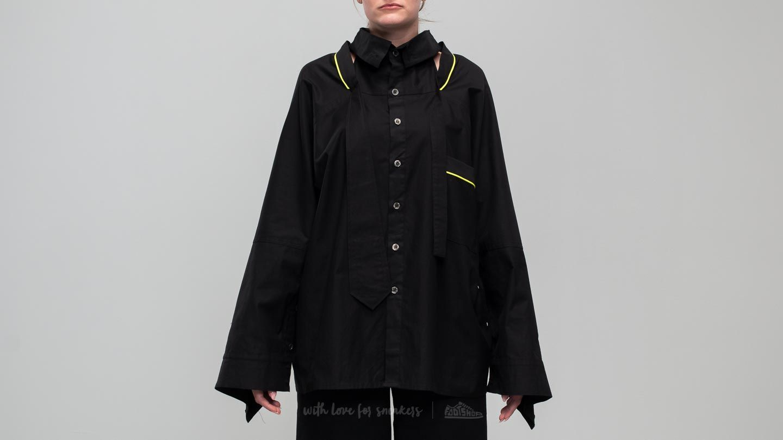Footshop x Petra Ptáčková ZERO WASTE Cut Out Longsleeve Shirt Black za skvělou cenu 3 190 Kč koupíte na Footshop.cz