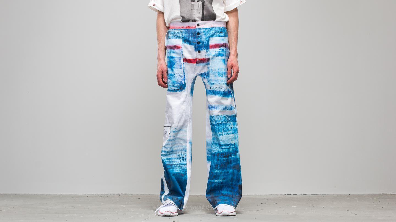 Footshop x Petra Ptáčková ZERO WASTE Wanna Go To Sea Painted Pants Blue/ White za skvělou cenu 2 990 Kč koupíte na Footshop.cz