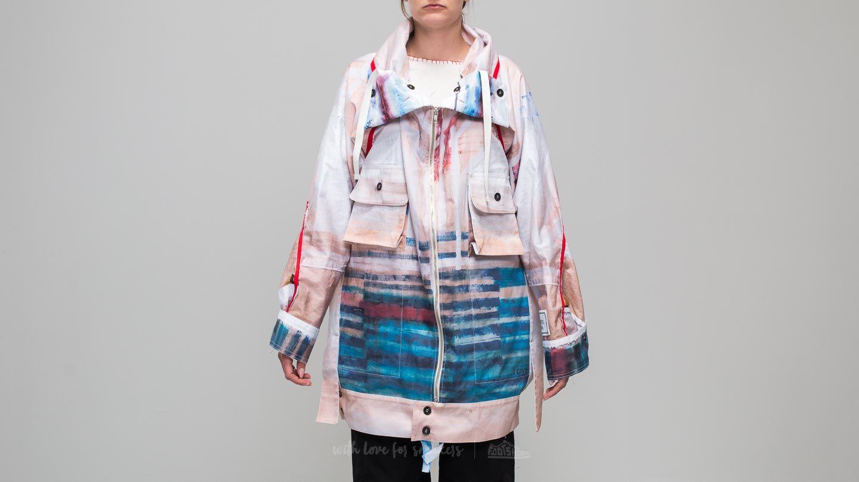 Footshop x Petra Ptáčková ZERO WASTE Hurricane Print Sack Jacket White/ Blue za skvělou cenu 6 190 Kč koupíte na Footshop.cz