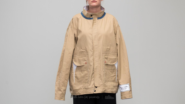 Footshop x Petra Ptáčková ZERO WASTE Paint And Complain Jacket Olive za skvělou cenu 3 770 Kč koupíte na Footshop.cz