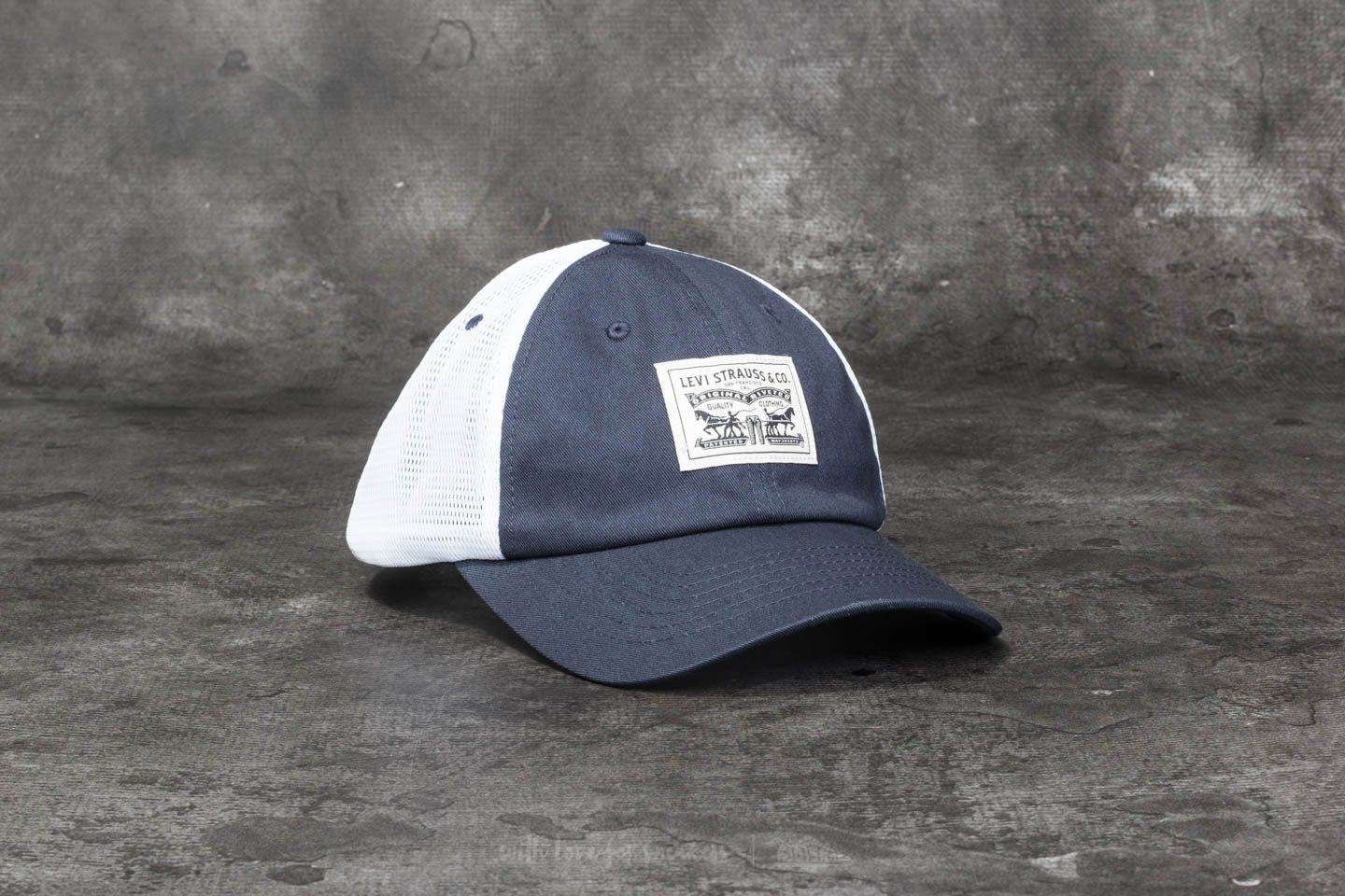 267527db40a3f7 Levi's® 2-Horse Patch Baseball Cap Navy Blue | Footshop