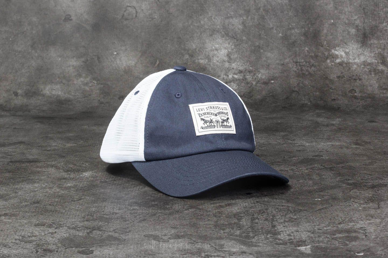 Levi s® 2-Horse Patch Baseball Cap Navy Blue  6aa0b8a1fcf4