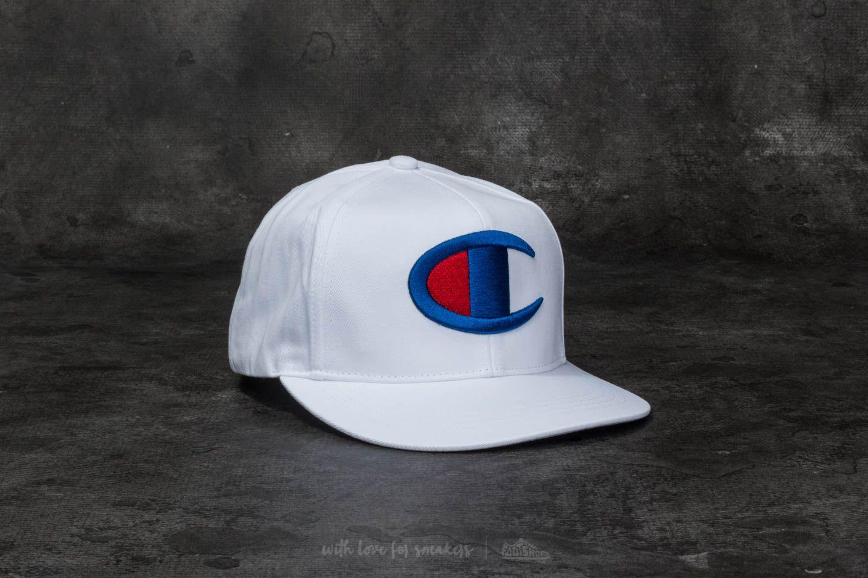 ffb8acc5d1e Champion Basketball Cap White