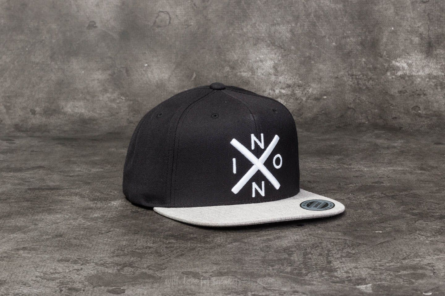 Nixon Exchange Snapback Black  Heather Gray  43644f4302a7