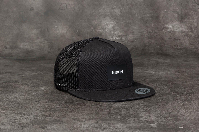 Nixon Team Trucker Hat Black  1d0c7c09175