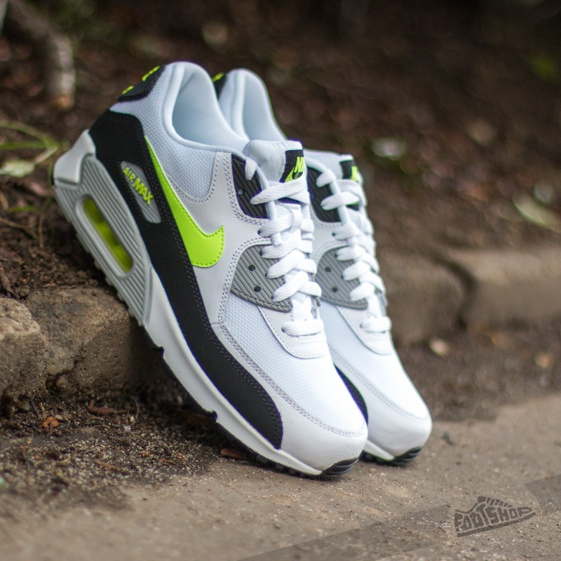 the best attitude 595f4 a7b17 Nike Air Max 90 Essential White/Volt/Black/Grey | Footshop
