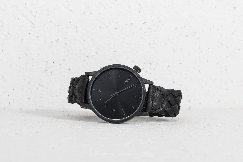 Komono Winston Woven All Black za skvělou cenu 2 390 Kč koupíte na Footshop.cz