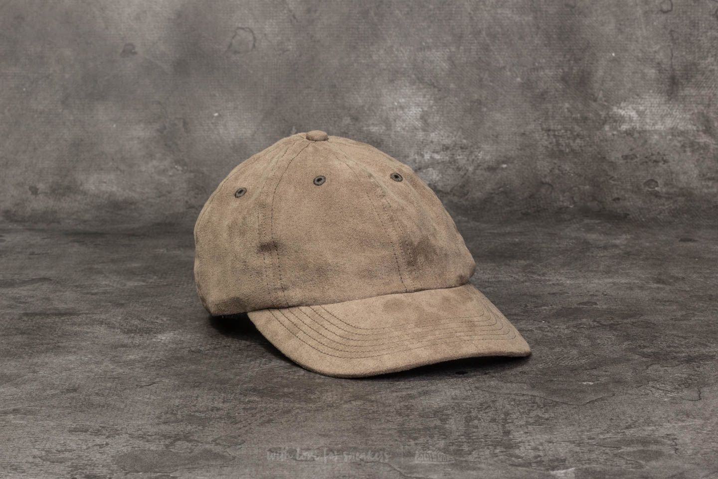 34e34398bd4 Norse Projects Fake Suede Sports Cap Dried Olive