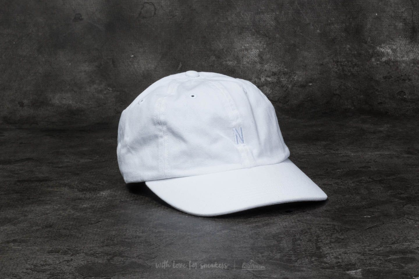 Norse Projects Light Twill Sports Cap White