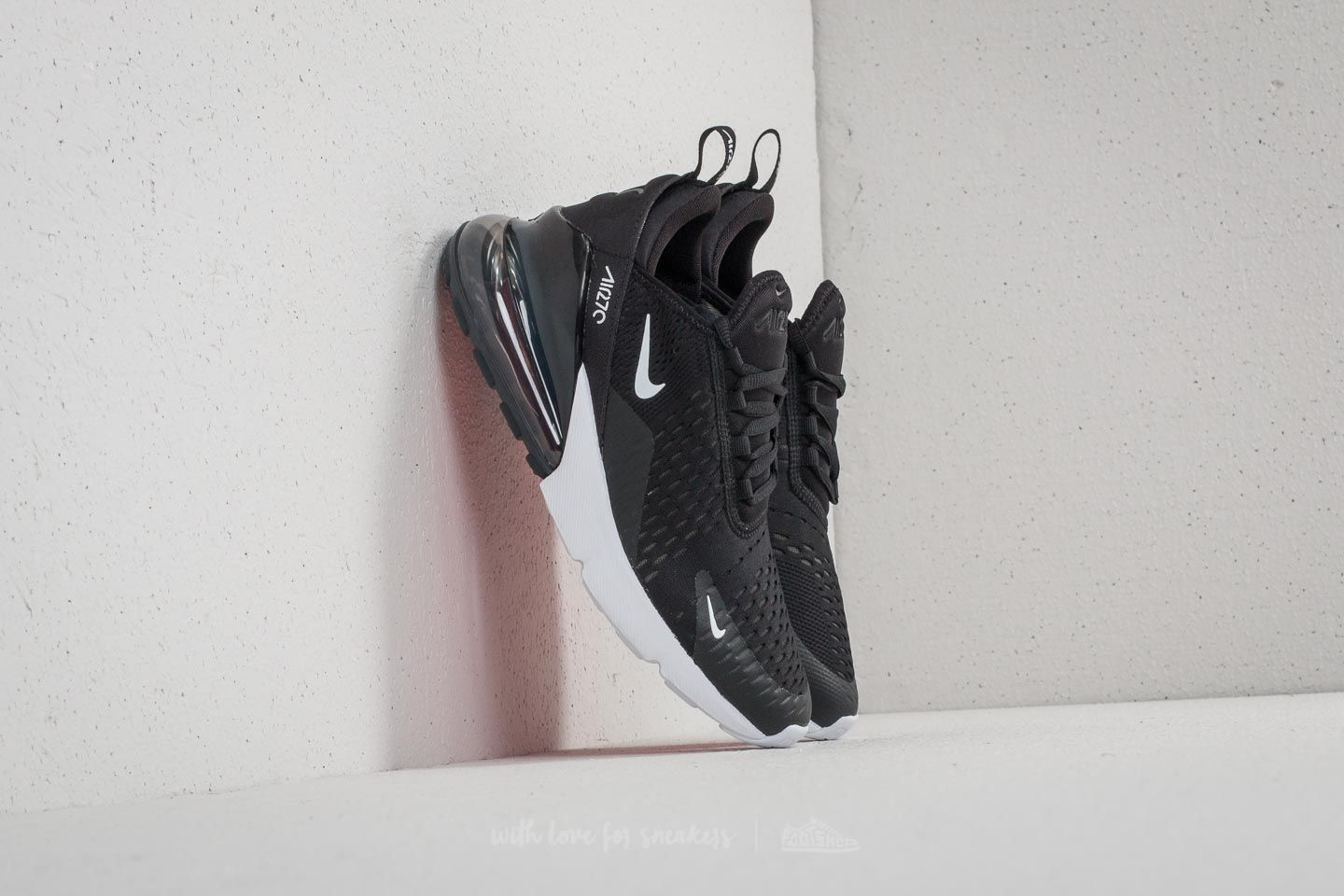 Nike Air Max 270 (GS) Black  White-Anthracite  3aa0d20f8