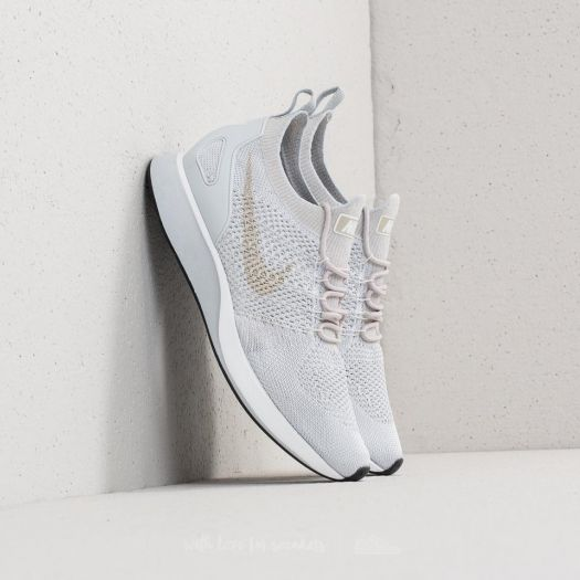 Nike Air Zoom Mariah Flyknit Racer Pure Platinum Dark Grey | Footshop