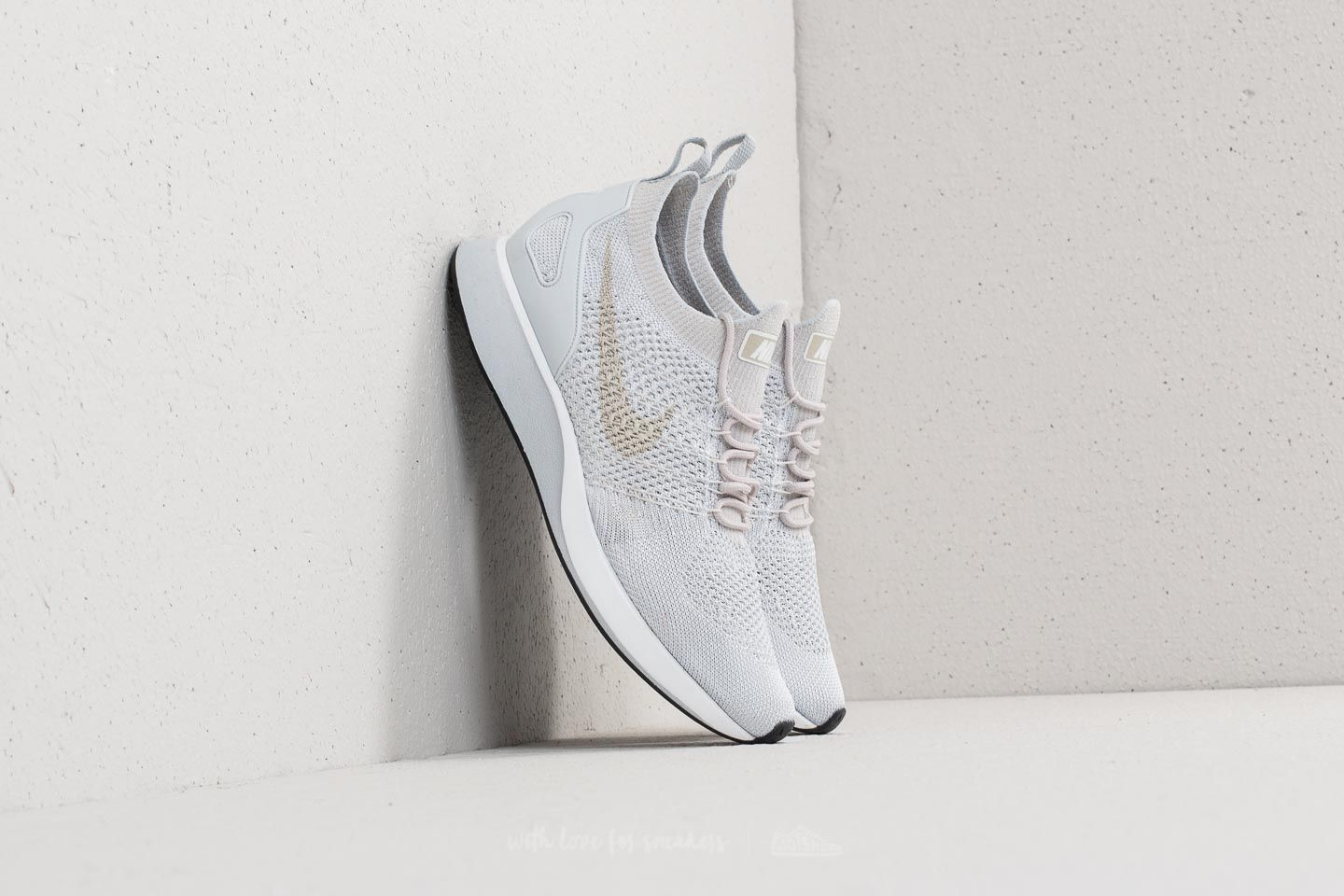 reputable site 66e94 87ccb Nike Air Zoom Mariah Flyknit Racer Pure Platinum  Dark Grey at a great  price 158