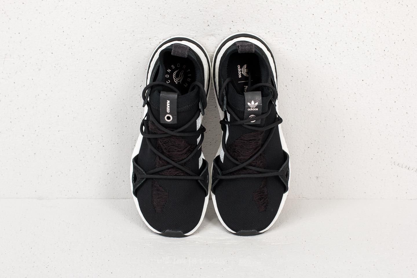 promo code fa68c 39507 adidas Consortium x Naked Arkyn Core Black Core Black Ftw White at a great