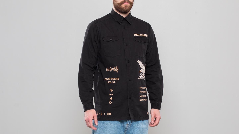 maharishi Mil Tour Shirt Black za skvělou cenu 3 230 Kč koupíte na Footshop.cz