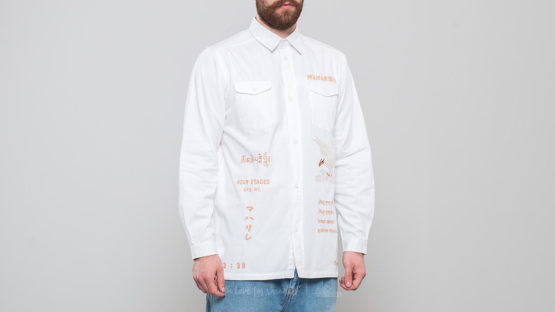 maharishi Mil Tour Shirt White za skvělou cenu 3 150 Kč koupíte na Footshop.cz