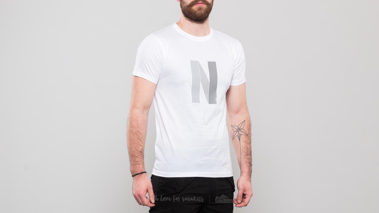 Norse Projects Niels Layer Logo Tee White za skvělou cenu 929 Kč koupíte na Footshop.cz