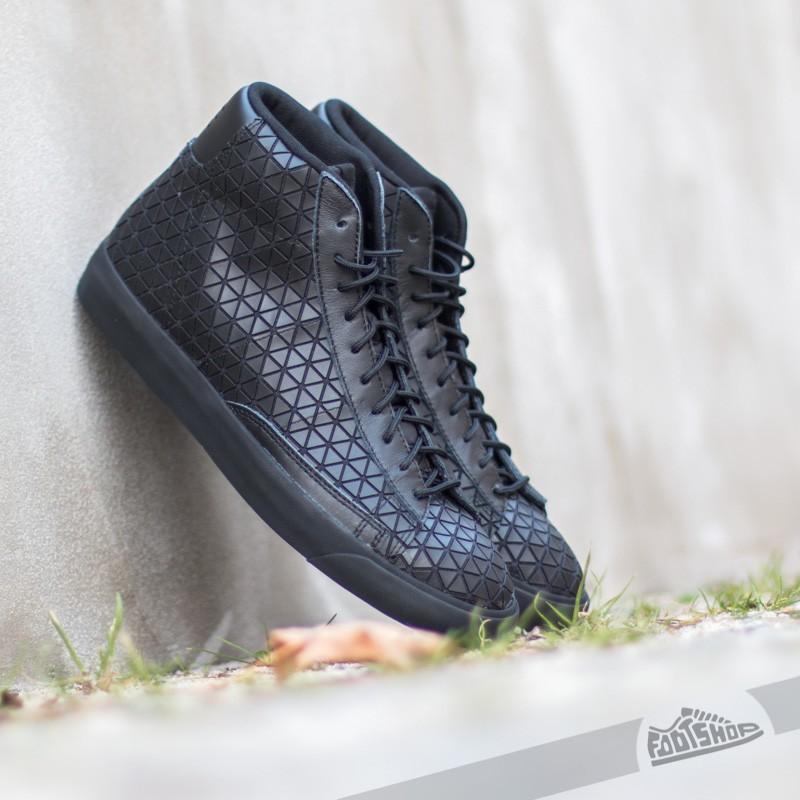 Men S Shoes Nike Blazer Mid Metric Qs Black Black