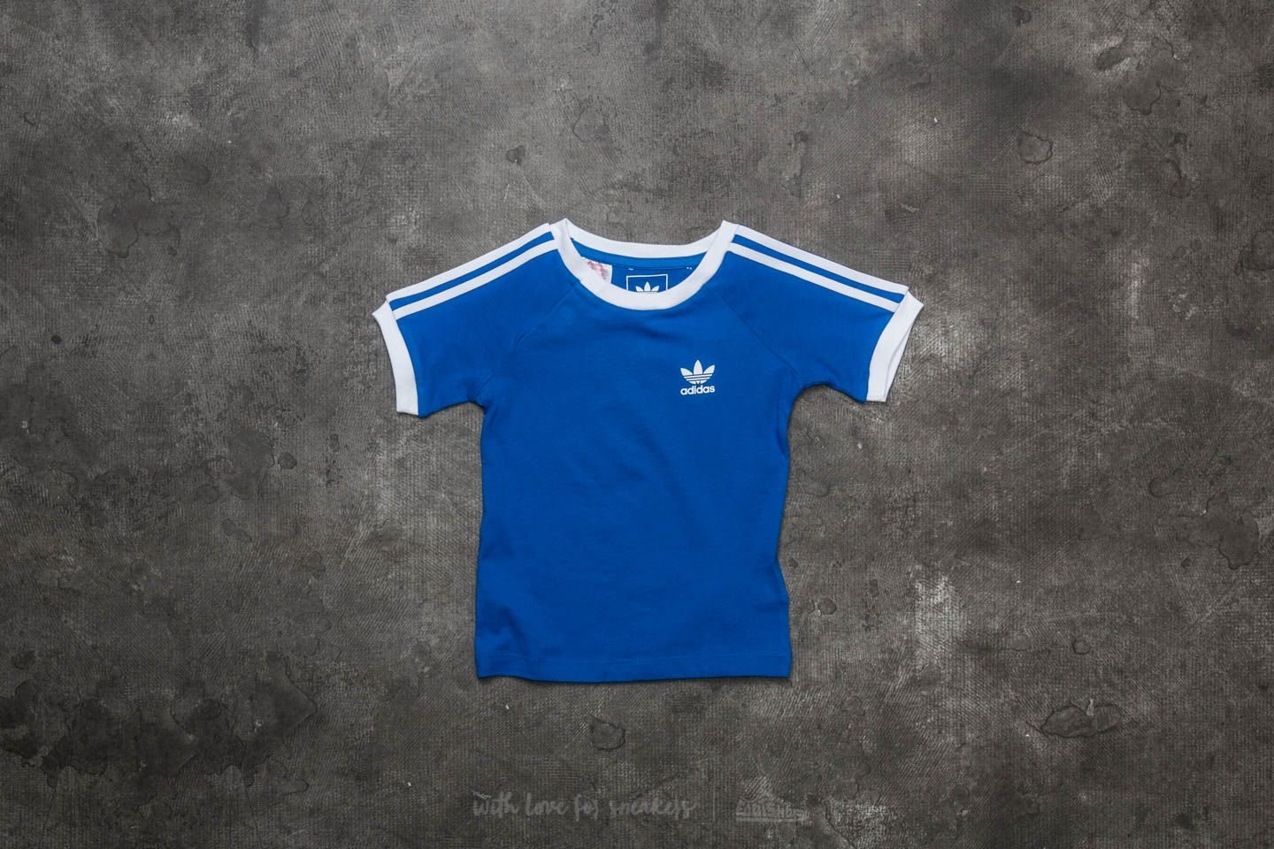 adidas California Tee Blue/ White