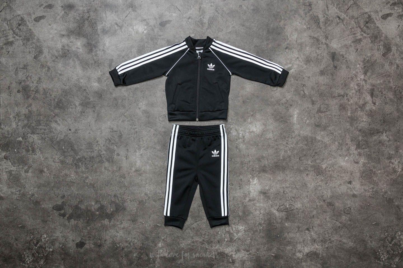 adidas Superstar Track Suit Black