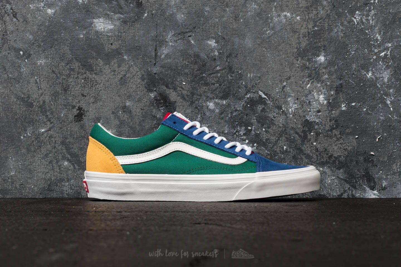 b2372f44 Vans Old Skool (Vans Yacht Club) Blue/ Green/ Yellow | Footshop