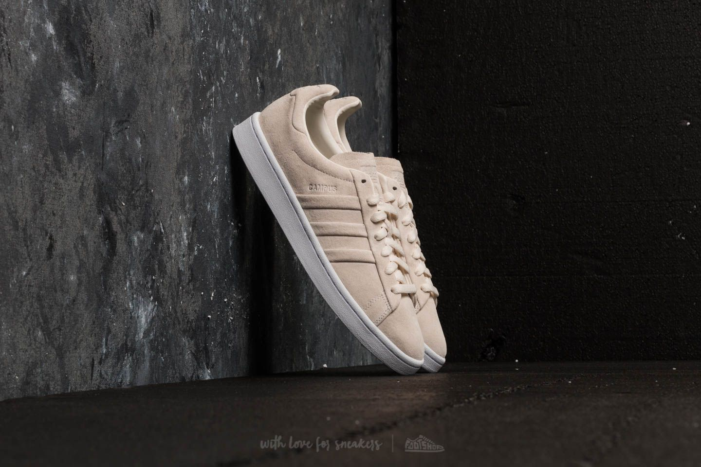 And Adidas Chalk Campus Turn Ftw Stitch White shdQCtr