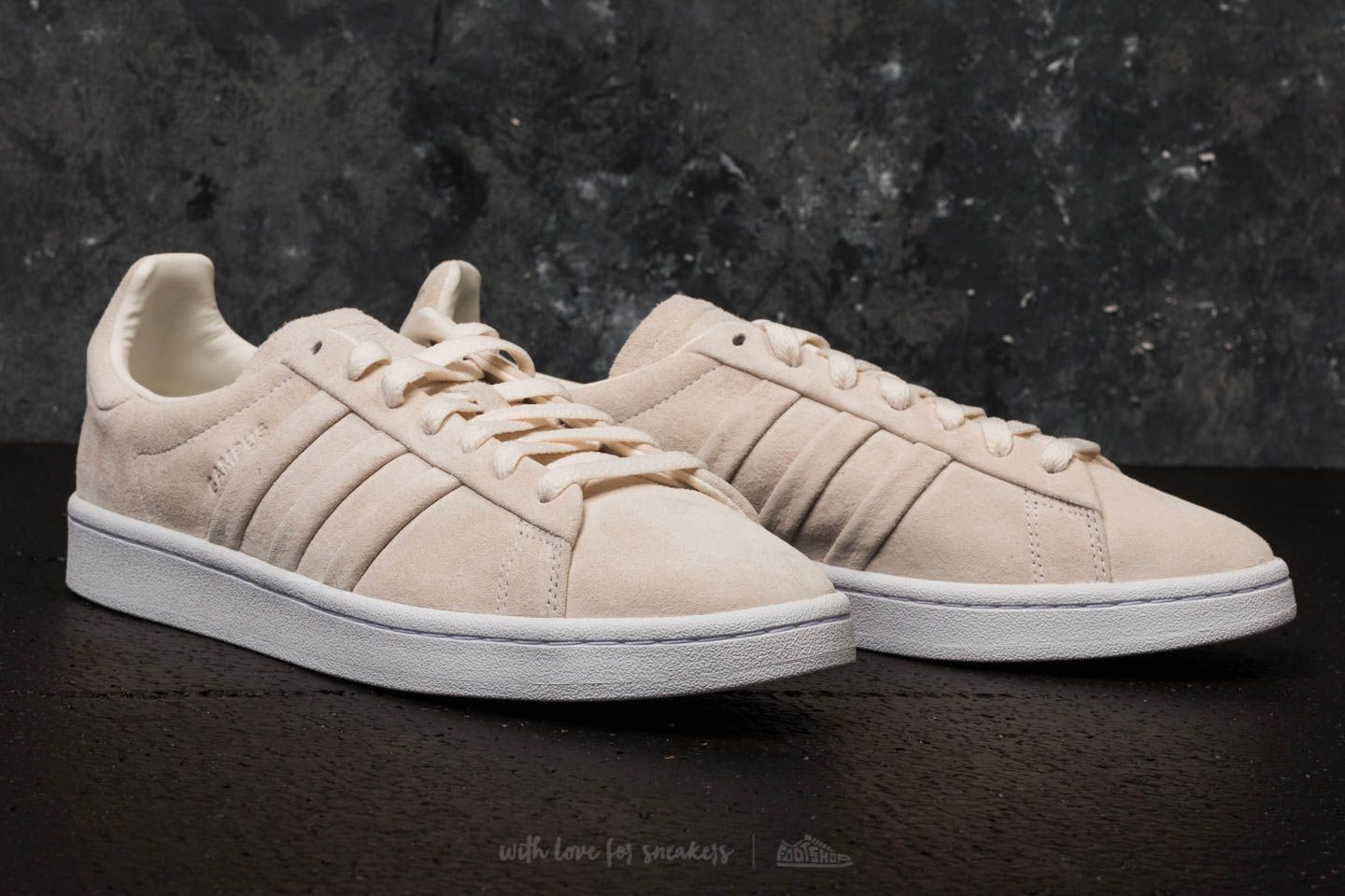 Adidas Campus Chalk And Stitch Turn White Ftw W29IDYEH