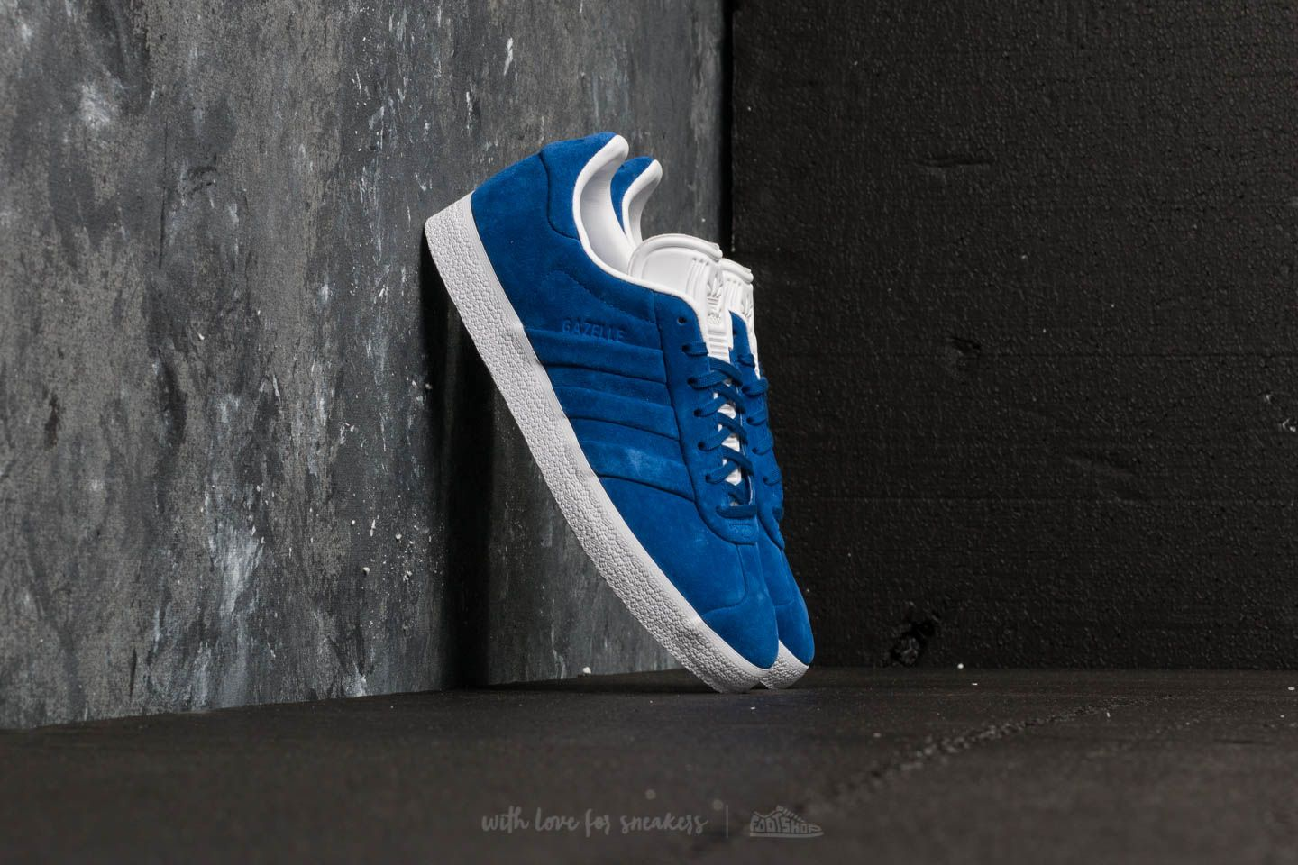 promo code c3677 49129 adidas Gazelle Stitch And Turn Collegiate Royal  Collegiate Royal  Ftw White  at a great