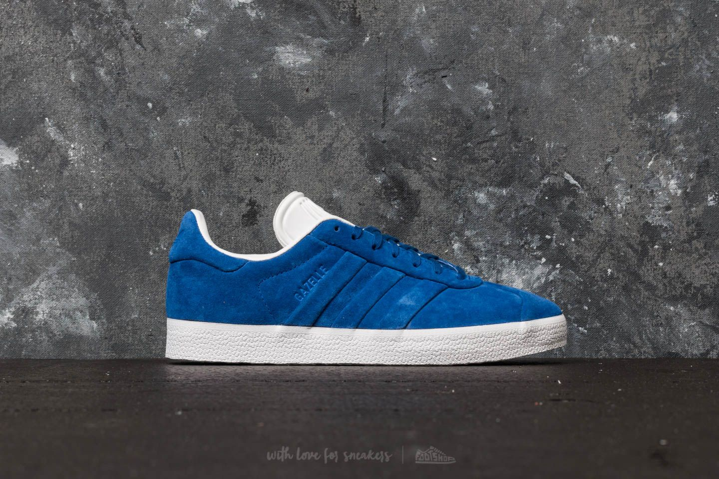 promo code 08b2b b4779 adidas Gazelle Stitch And Turn Collegiate Royal  Collegiate Royal  Ftw White  at a great