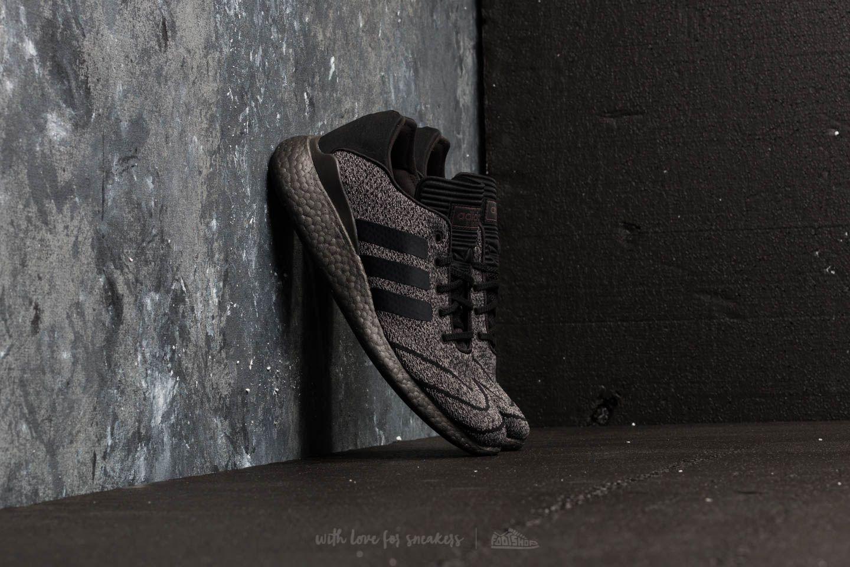 online retailer 5ab1a 7989f adidas Busenitz Pureboost Primeknit Chalk Solid Grey Core Black Trace Grey  Metalic at a