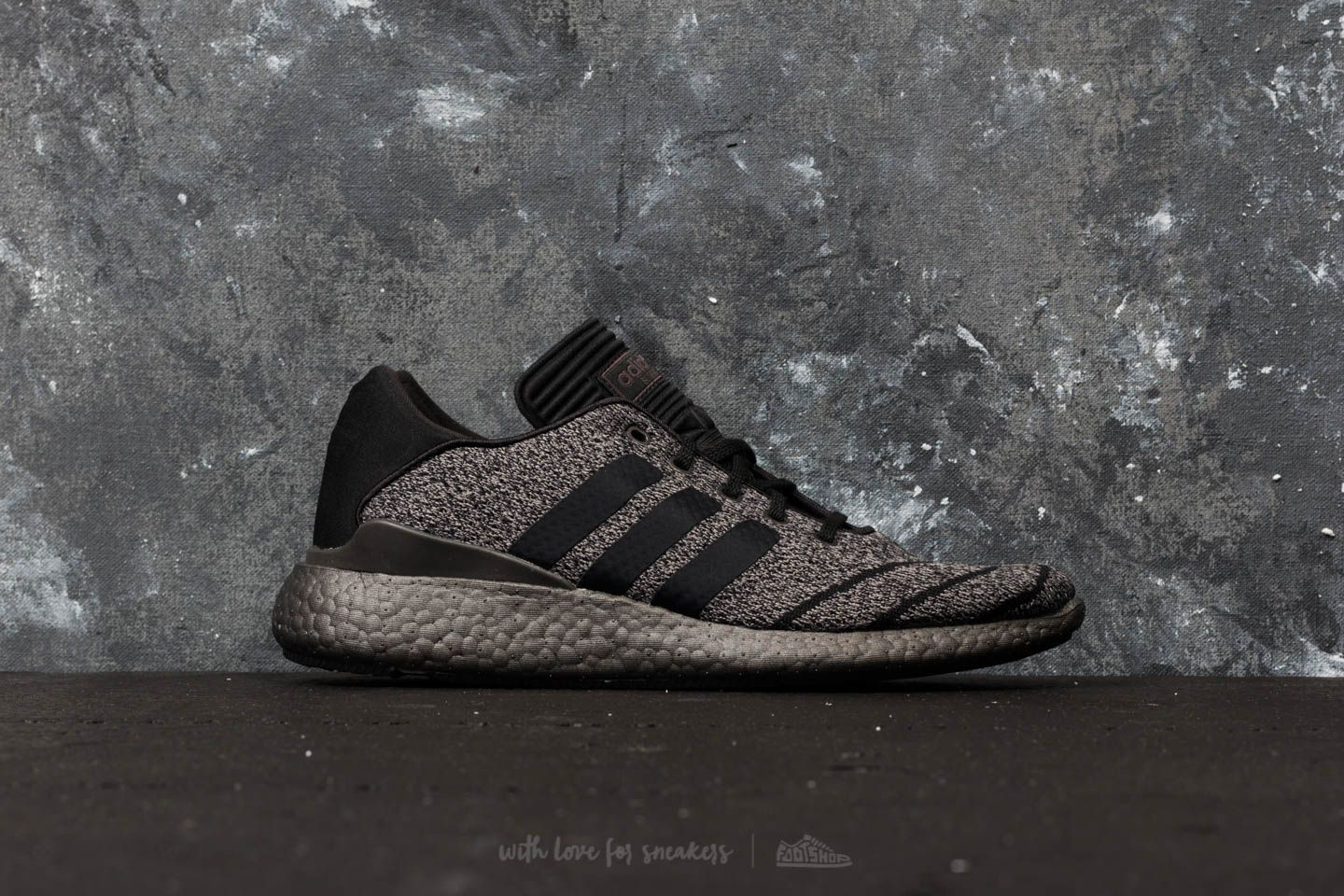adidas Busenitz Pureboost Primeknit Chalk Solid Grey  Core Black  Trace  Grey Metalic at a 3d3e166d9