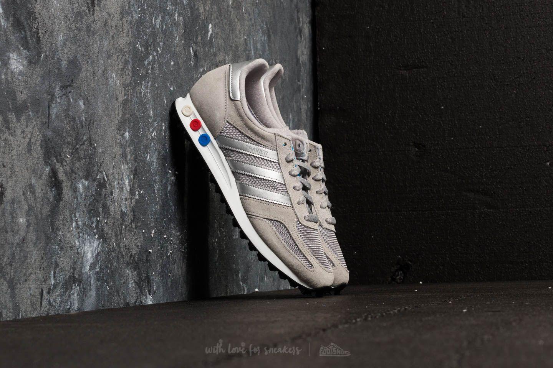 adidas LA Trainer Medium Solid Grey/ Metallic Silver/ Ftw White