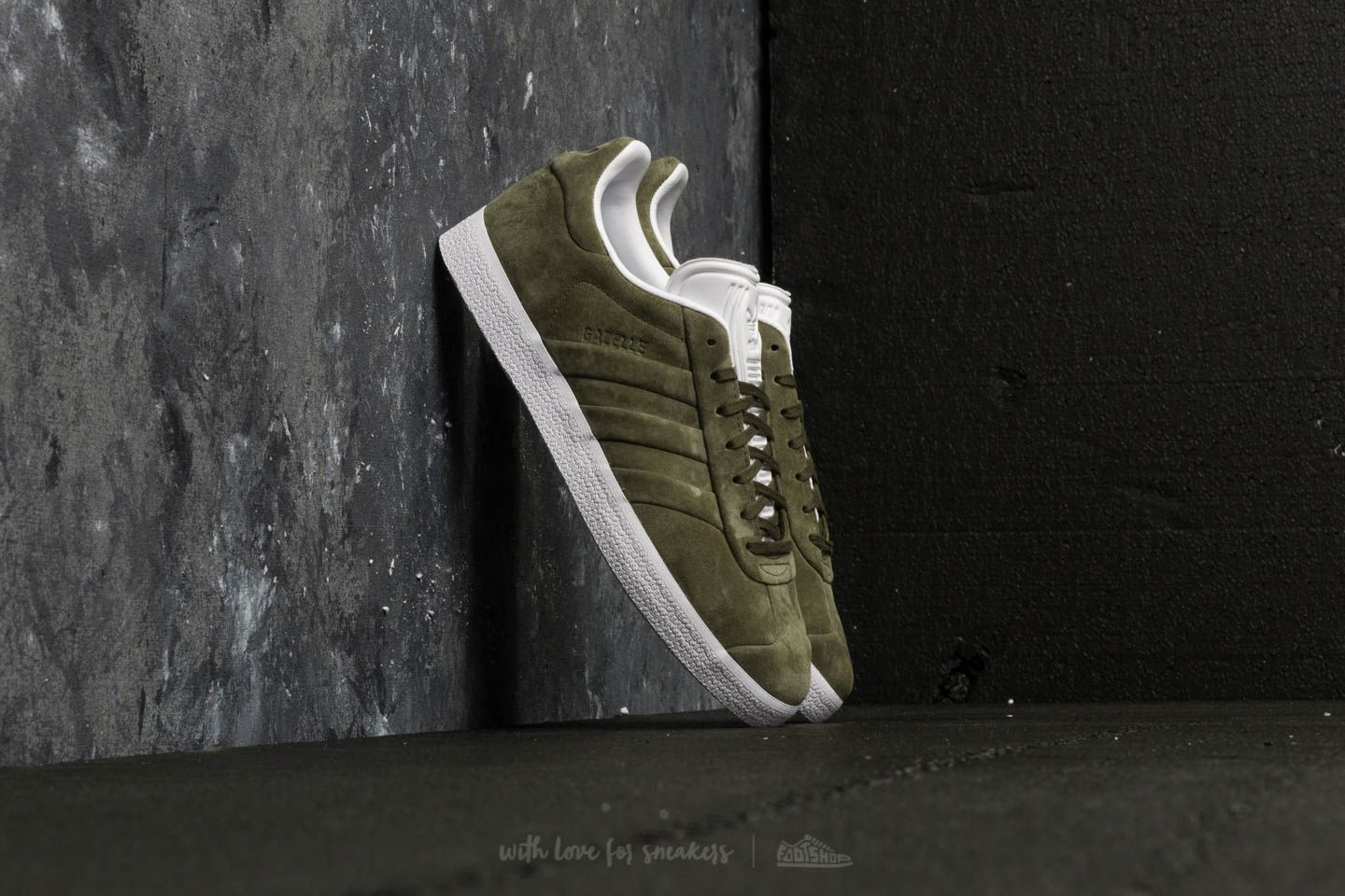 750e74f4d1107 adidas Gazelle Stitch And Turn Branch  Branch  Ftw White at a great price £