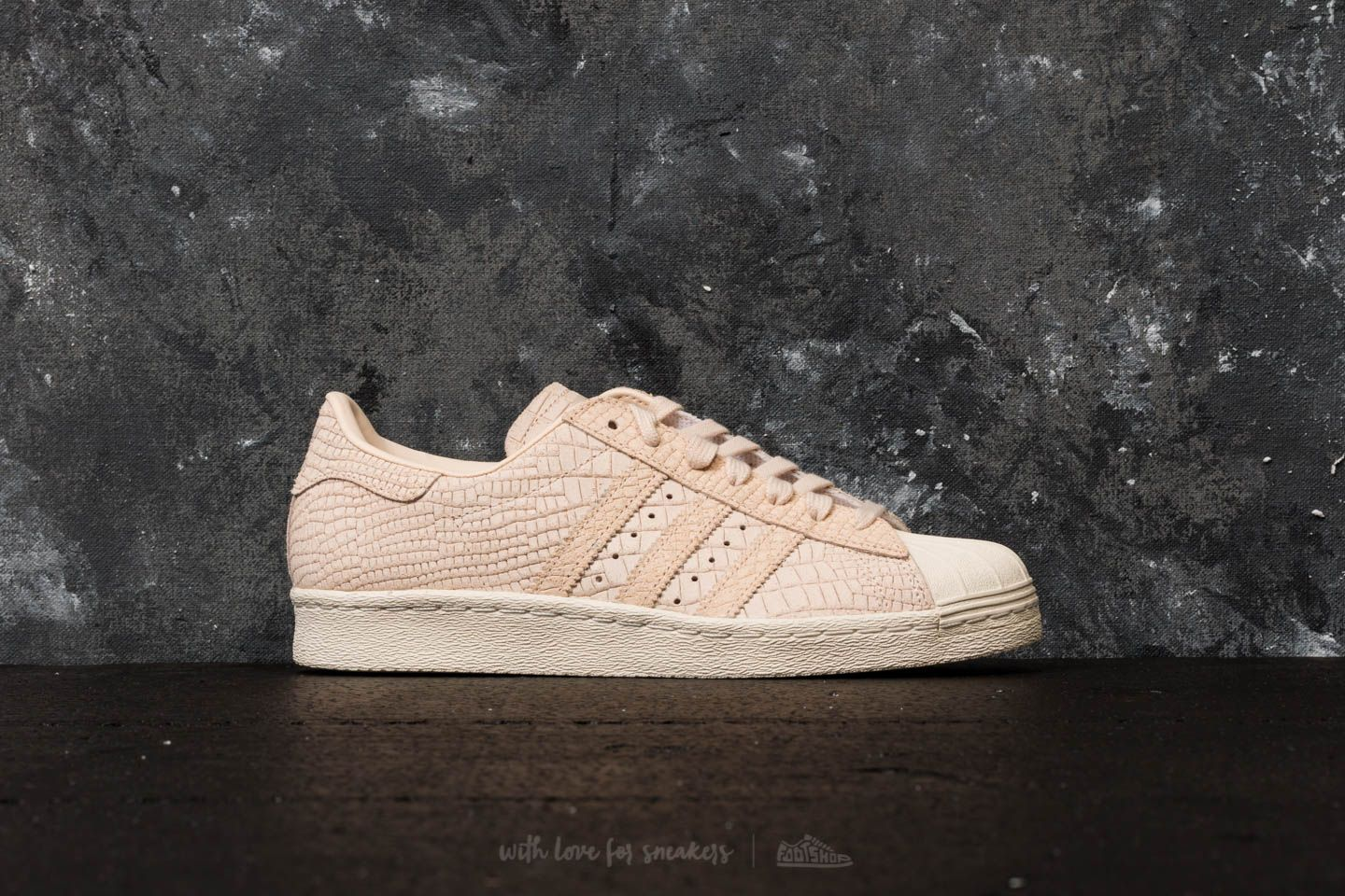reputable site b448c 76561 adidas Superstar 80s W Linen Linen Off White at a great price 63 €