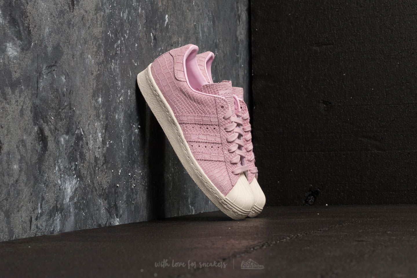 adidas Superstar 80s W Wonder Pink/ Wonder Pink/ Off White