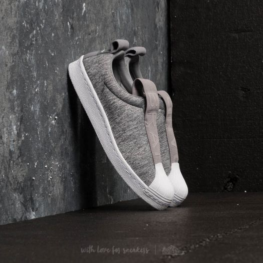 low priced 20f6d f0f19 adidas Superstar BW3S Slip-On W Grey Two/ Grey Three/ Ftw ...