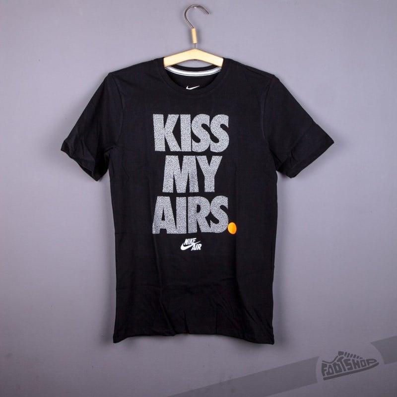 release date premium selection get online Nike Air Kiss My Airs Tee Black | Footshop