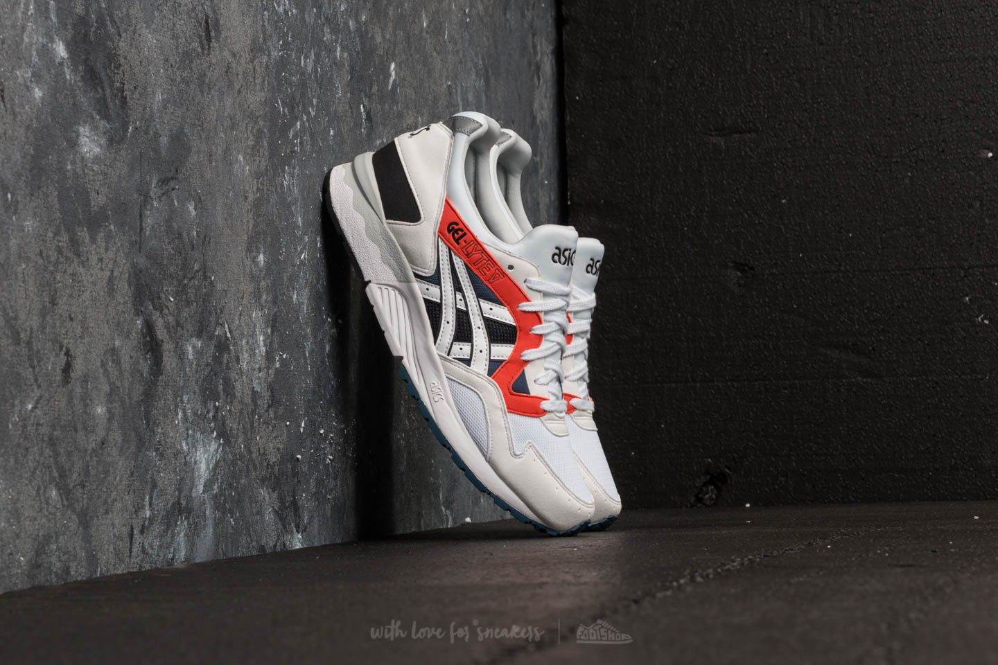 sports shoes e6465 72e0d Asics Tiger Gel-Lyte V White/ White | Footshop