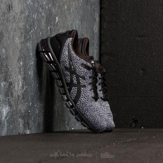 low priced 2f647 45a80 Asics Gel-Quantum 360 Knit 2 Black/ White/ Black | Footshop