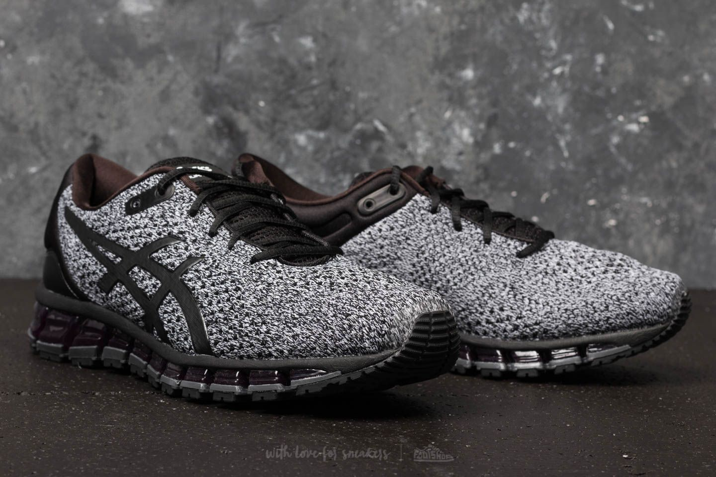 08cff985 Asics Gel-Quantum 360 Knit 2 Black/ White/ Black | Footshop