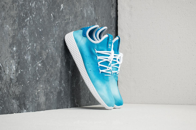 16788d895 adidas x Pharrell Williams HU Holi Tennis Bright Blue  Ftw White ...