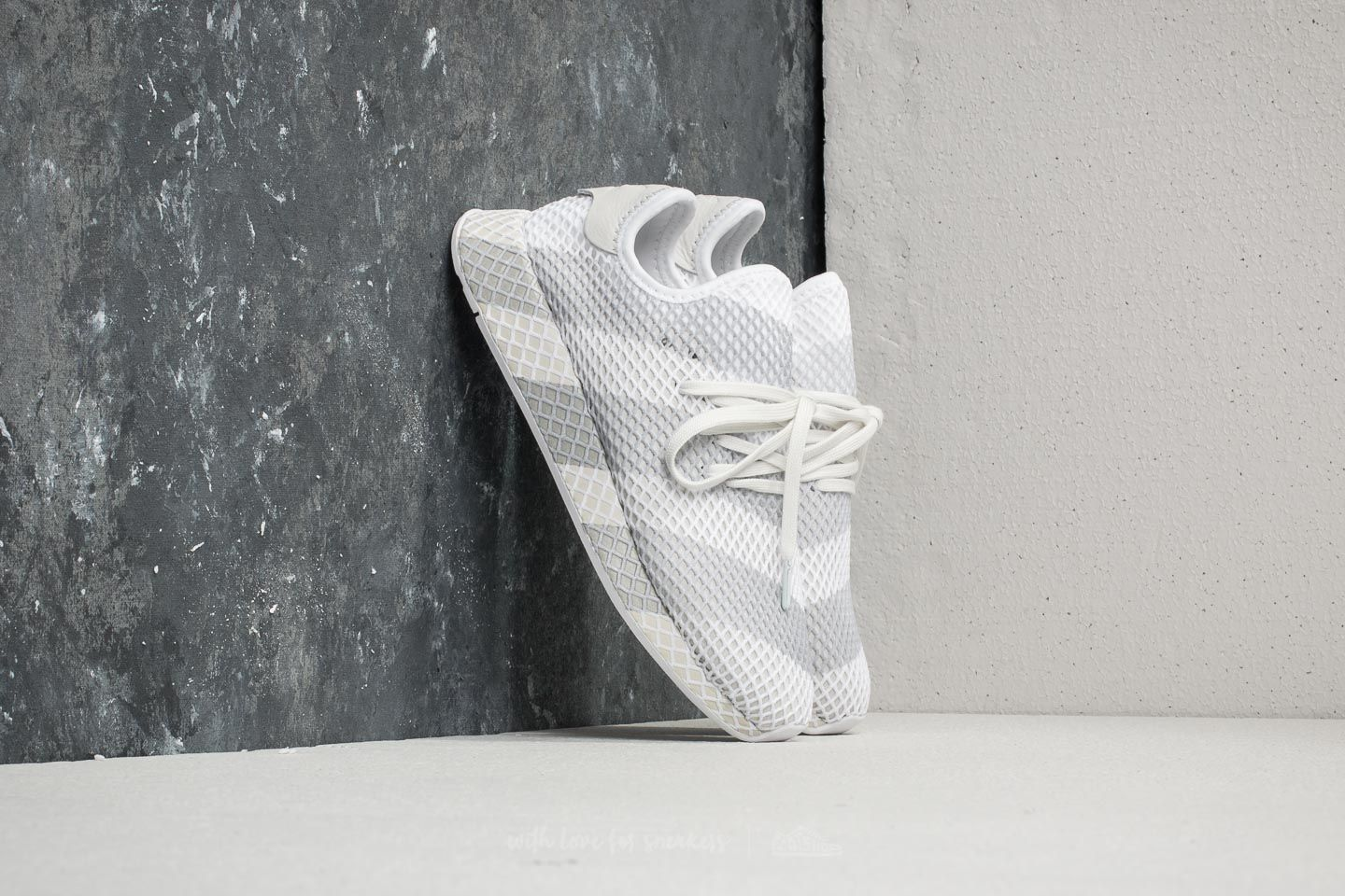 cheap for discount 14783 1be46 adidas Consortium Deerupt Ftw White Ftw White Ftw White at a great price  121