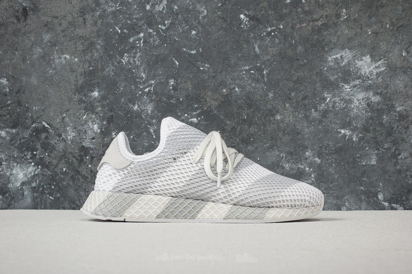 cheap for discount f4690 b2bcb adidas Consortium Deerupt Ftw White Ftw White Ftw White at a great price  121