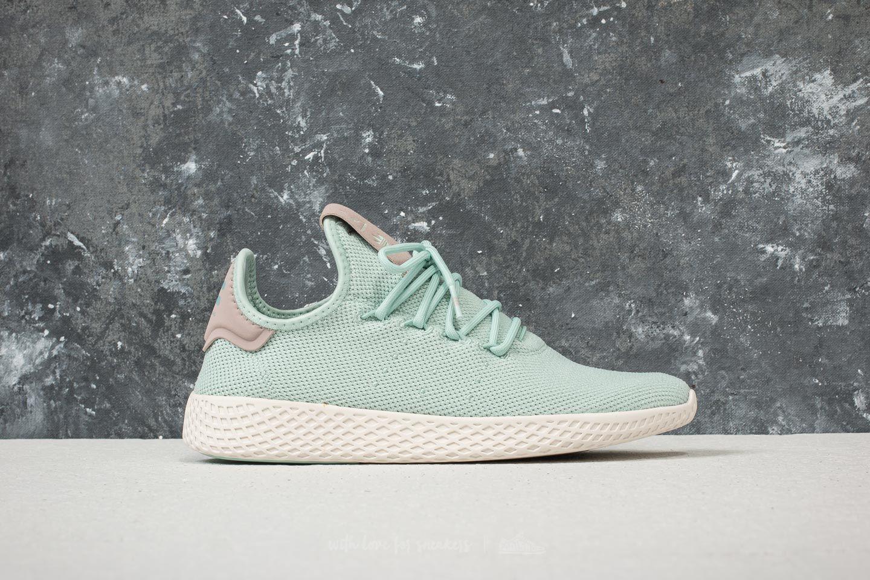 adidas x Pharrell Williams Tennis HU W Ash Green Ash Green Ash Grey | Footshop
