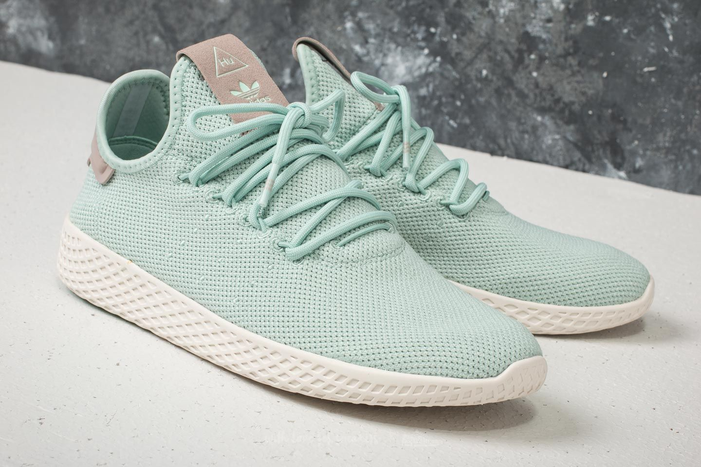 adidas x Pharrell Williams Tennis HU W Ash Green  Ash Green  Ash Grey at 535bc018f
