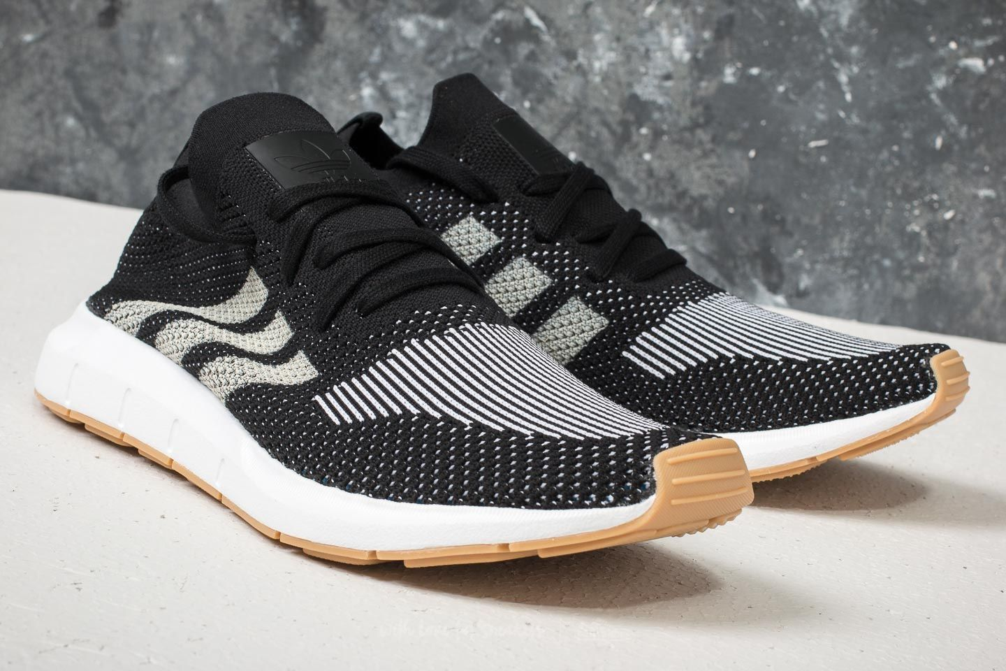 8c3549b0742 adidas Swift Run Primeknit Core Black/ Off White/ Ftw White | Footshop