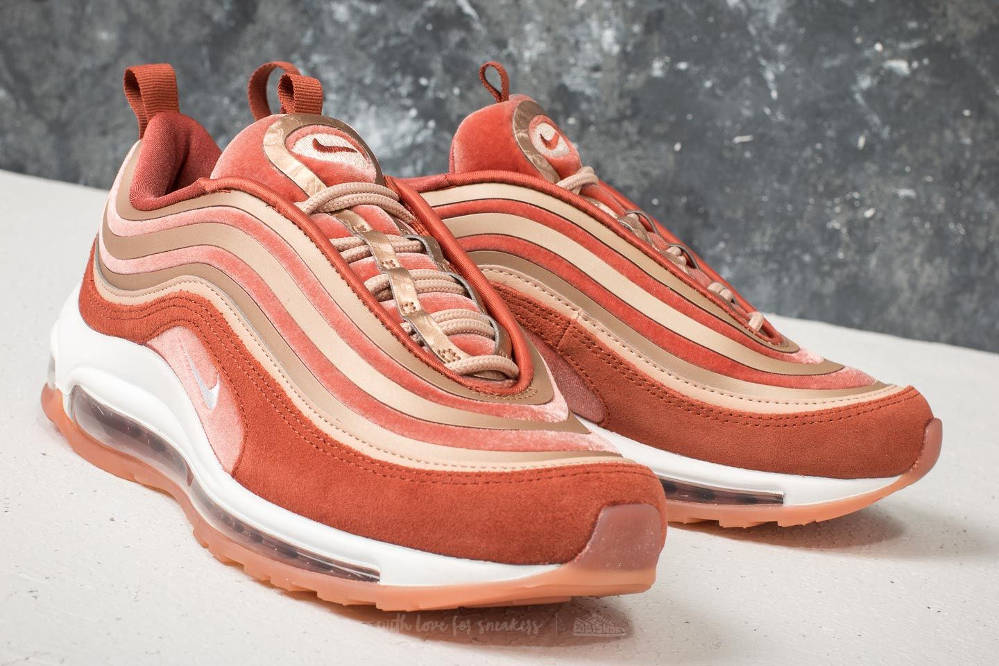 competitive price 7ca48 6c759 Nike W Air Max 97 UL '17 LX Dusty Peach/ Summit White | Footshop