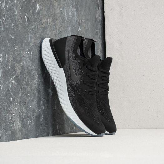 new concept various styles pre order Nike Epic React Flyknit Black/ Black-Dark Grey | Footshop
