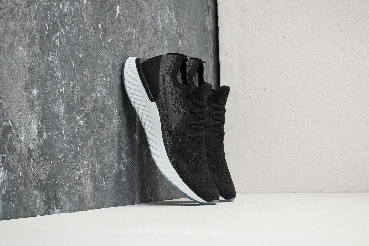 d8cbc02df527 Nike Epic React Flyknit Black  Black-Dark Grey at a great price 147 €