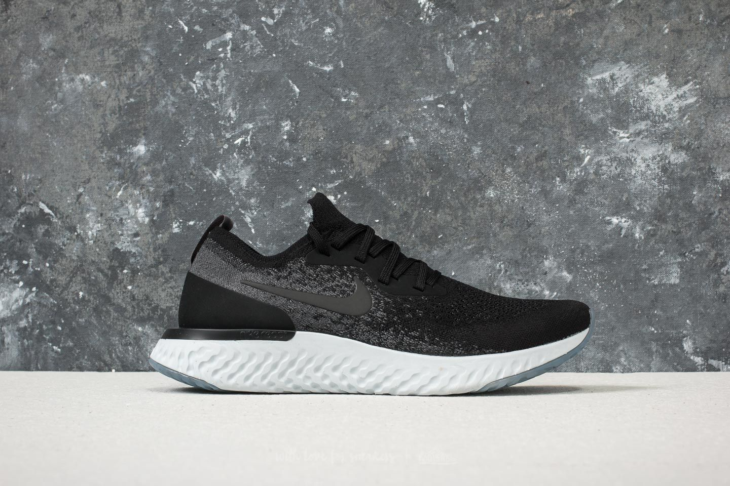 f9e51680ff4 Nike Epic React Flyknit Black  Black-Dark Grey at a great price 147 €